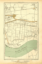 LONDON: Creekmouth, Rippleside, Upney, Becontree, Thamesmead, 1928 vintage map